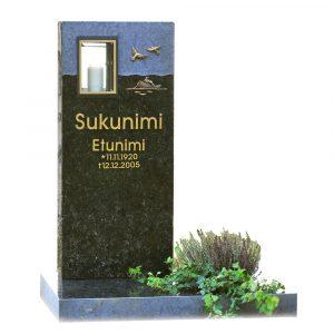Kivilähde, gravstenar, med lykta, lyktstenar, roddaren