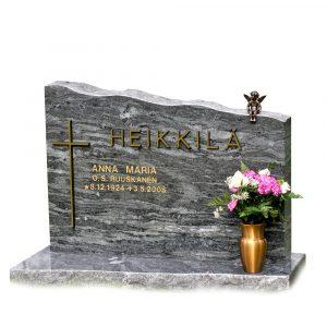 Kivilähde, hautakivi, pohjolan loimu