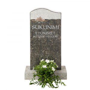 Kivilähde, hautakivet, pienet, soutaja