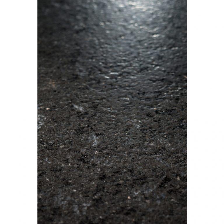 Diamantborstad svart