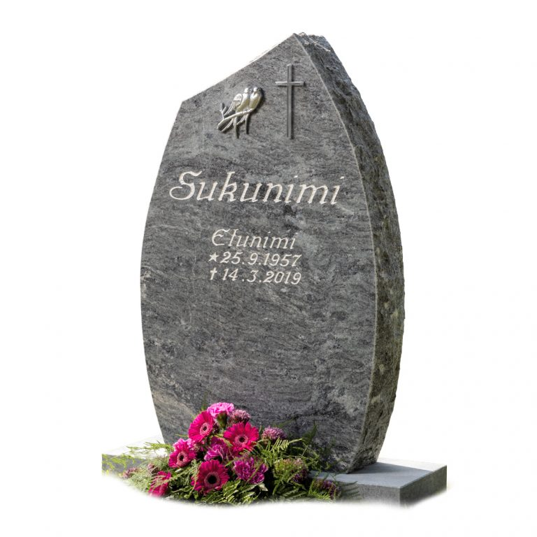 Kivilähde, gravestones