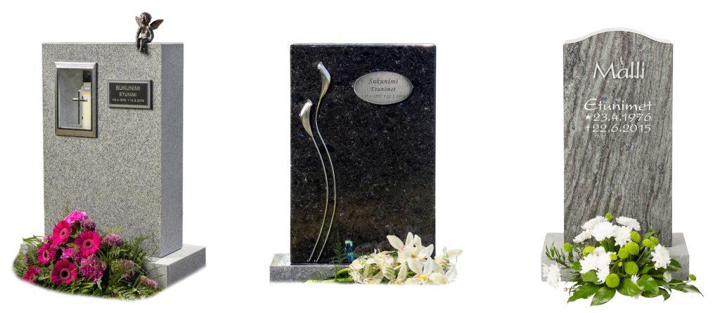Kivilähde, uurna-alue, hautakivi, hautakivet